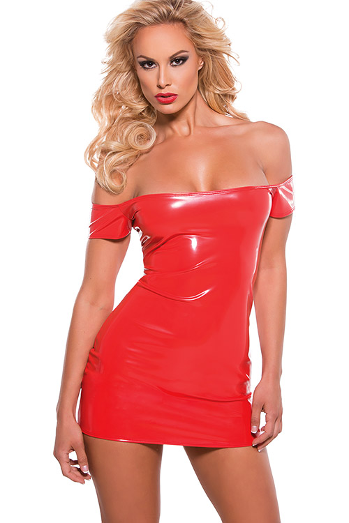 Lingerie - Allure Vinyl Dress