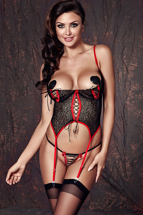 Lingerie - Anais Soft Fit Bustier with Thong