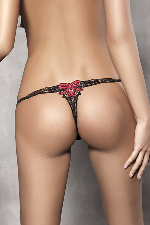 Lingerie - Anais Embroidered G-String