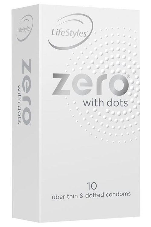 Uber Thin With Dots Condoms (10 Pack)