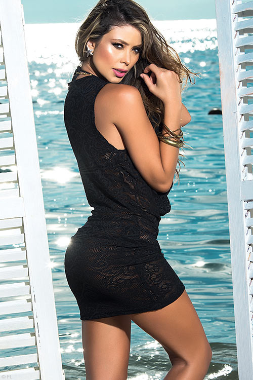Lingerie - Mapale Swim & Beachwear Versatile 2 Piece Mini Dress