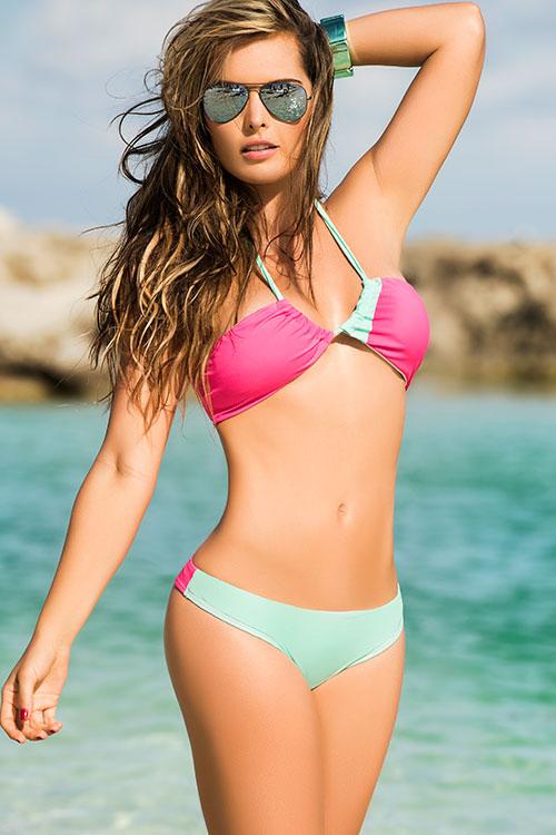 Lingerie - Mapale Swim & Beachwear 2 Pce Halter Bikini