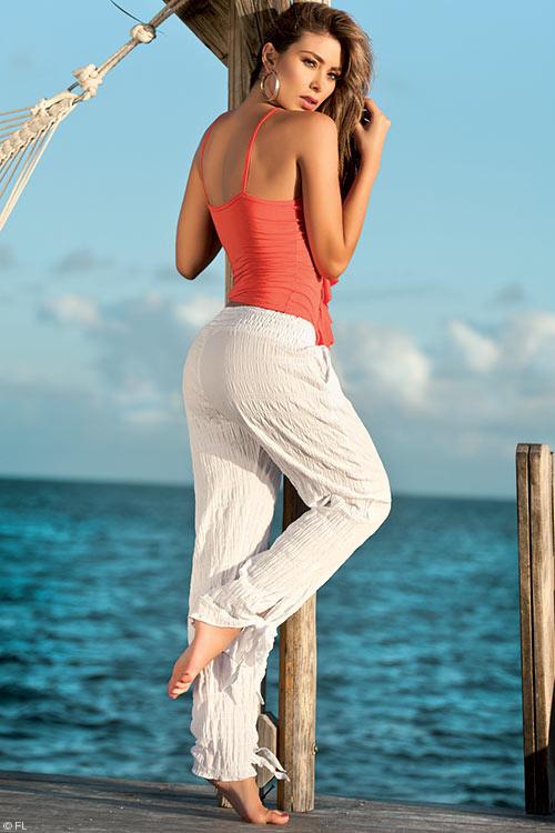 Lingerie - Mapale Swim & Beachwear Flowing Summer Pants