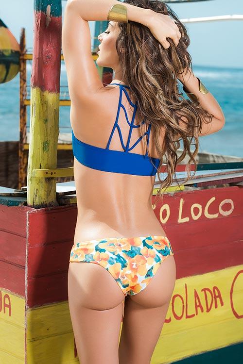 Lingerie - Mapale Swim & Beachwear 2 Pce Floral Bikini Set