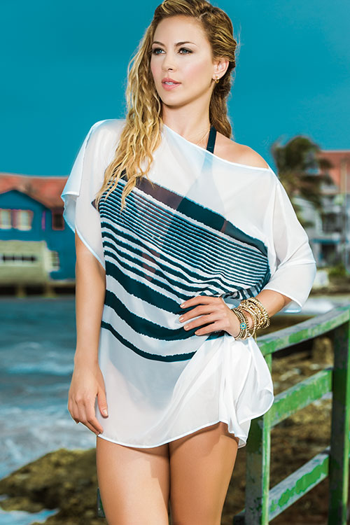 Lingerie - Mapale Swim & Beachwear Classic Tunic Style Cover Up