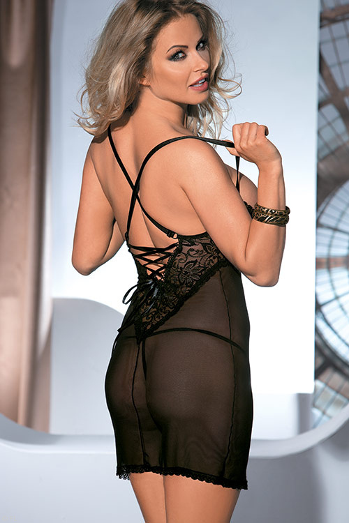Lingerie - Avanua Monic Chemise with Thong