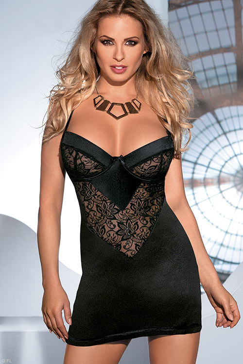 Lingerie - Avanua Leis Chemise with Thong