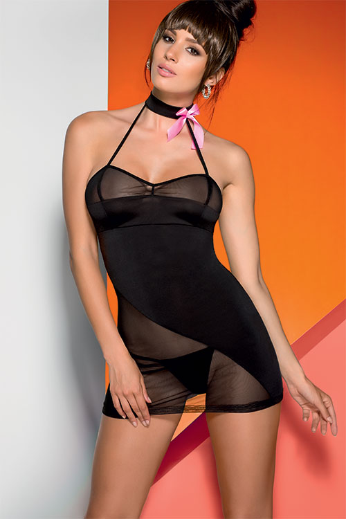 Lingerie - Avanua Chemise with Thong