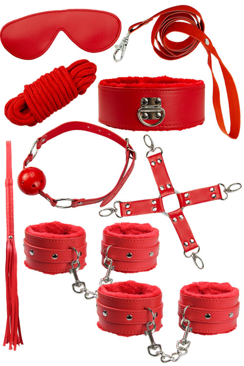Vegan Leather BDSM Set (9 Pce)