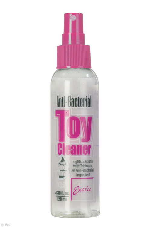 Anti-Bacterial Toy Cleaner with Aloe (128ml)