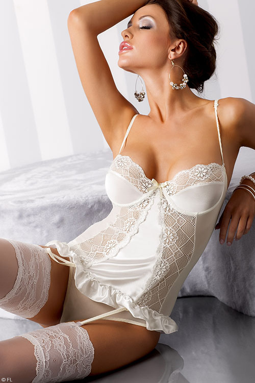 Lingerie - Casmir Blanchet Corset with Thong