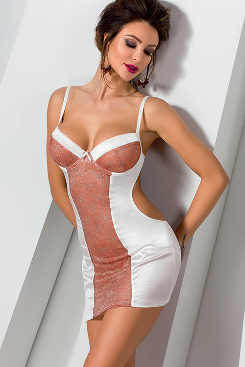 Lingerie - Casmir Danny Chemise with Thong