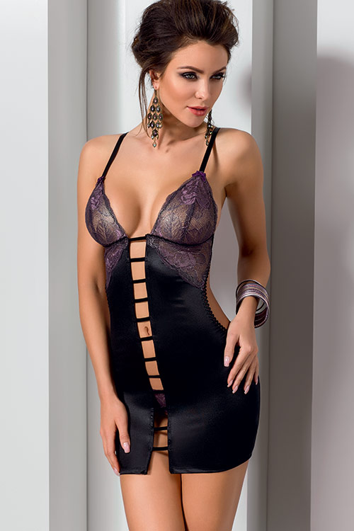 Lingerie - Casmir Fiero Chemise with Thong