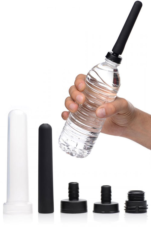 Travel Enema Water Bottle Adapter Set (5 Pce)