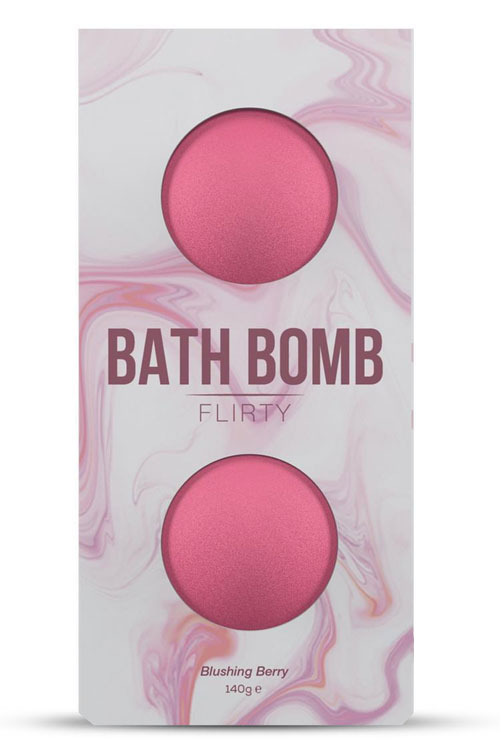 Bath Bomb - Flirty Blushing Berry Fragrance (2 Pack)