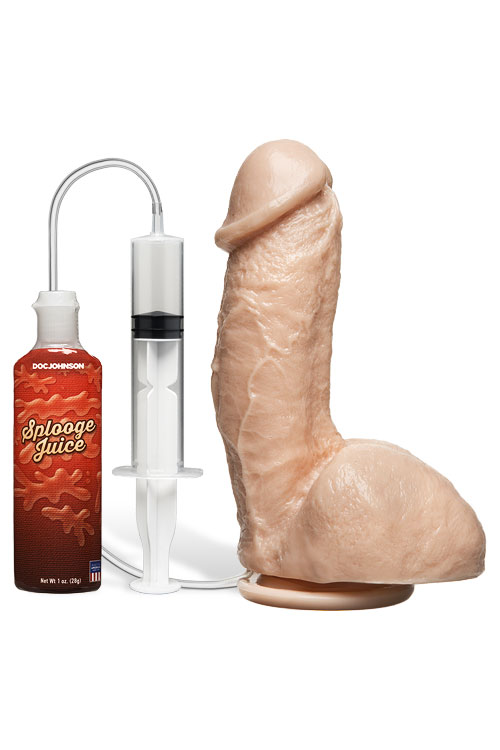 "Squirting 7.4"" Realistic Dildo"