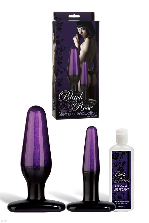 doc-johnson-black-rose-anal-trainer-kit