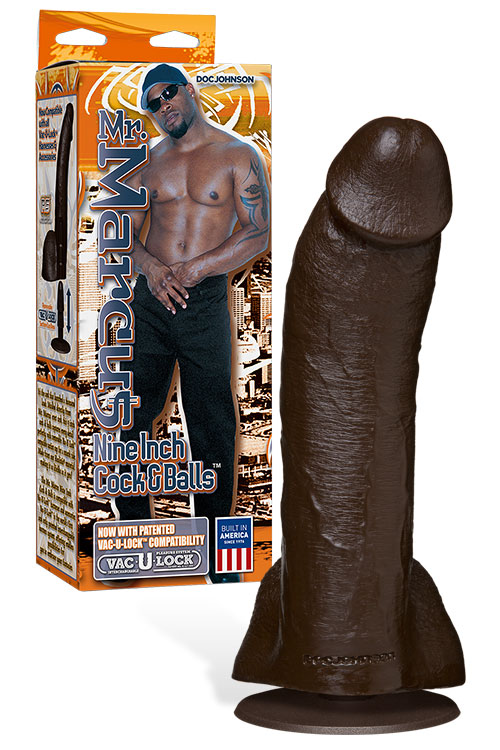 "Mr Marcus 9"" Realistic Dildo with Suction Base"