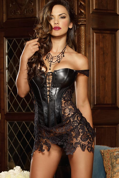 Lingerie - Dreamgirl Beyoncé Corset with Thong