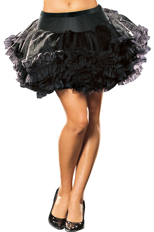 Lingerie - Dreamgirl Multi Layer Tulle Petticoat