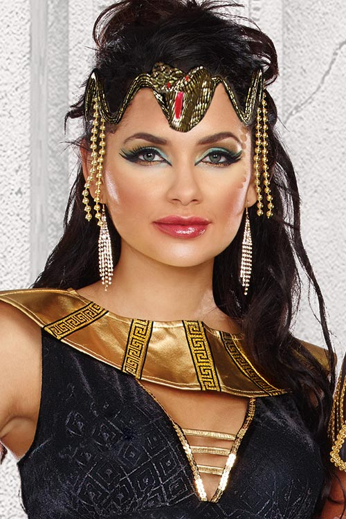 Lingerie - Dreamgirl Cleopatra Snake Headpiece