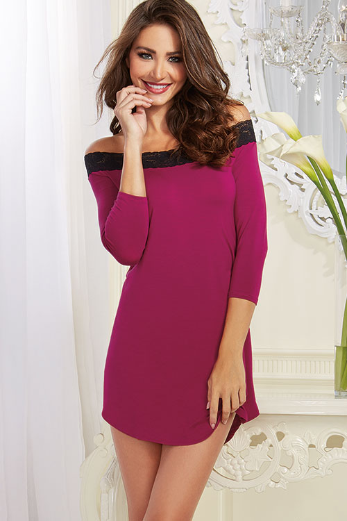 Lingerie - Dreamgirl Ultra-Soft Sleep Tunic