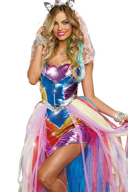 Costumes - Dreamgirl 4 Pce Unicorn Costume