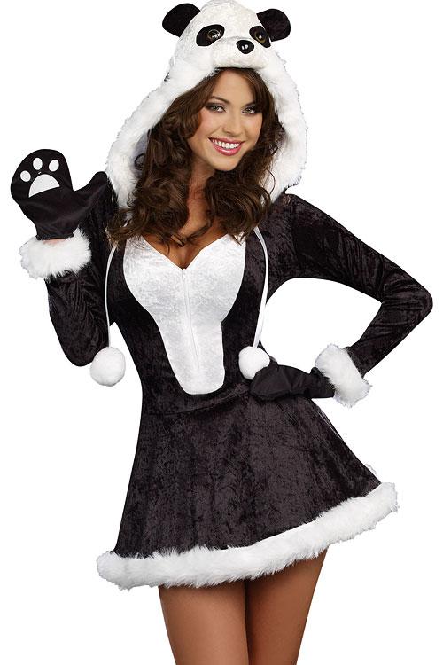 Costumes - Dreamgirl 3 Pce Panda Costume