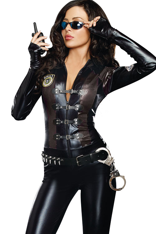 Costumes - Dreamgirl 2 Pce Special Ops Costume