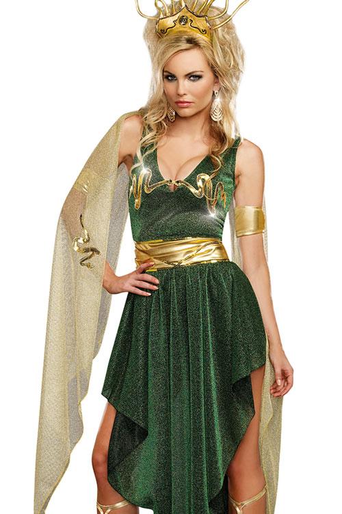 Costumes - Dreamgirl 3 Pce Medusa Costume
