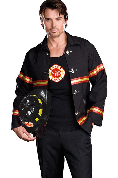 Costumes - Dreamgirl 3 Pce Fireman Costume