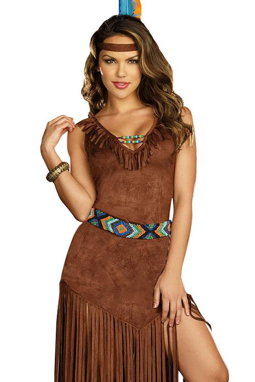 Costumes - Dreamgirl 3 Pce Native American Costume