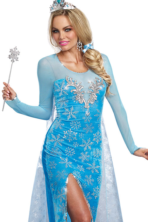 Costumes - Dreamgirl 2 Pce Frozen Costume