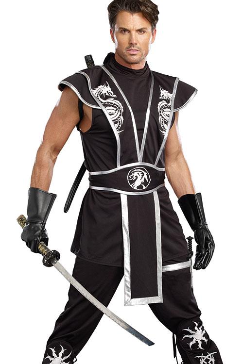 Costumes - Dreamgirl 4 Pce Ninja Costume