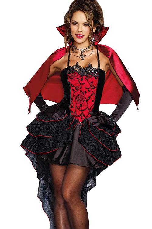 Costumes - Dreamgirl 2 Pce Vampire Costume