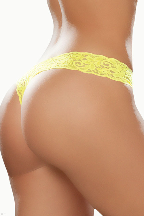 Lingerie - Mapale by Espiral Paisley Lace G-String