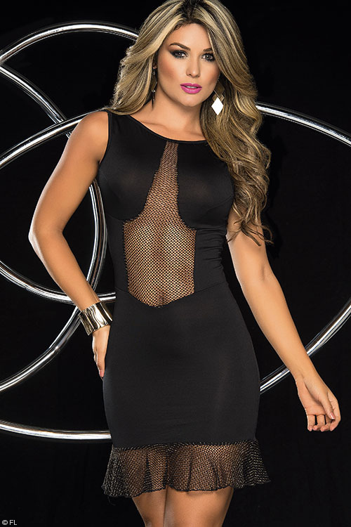 Mapale by Espiral Sexy Little Black Dress
