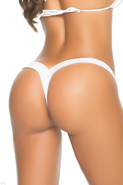 The Perfect Thong in White