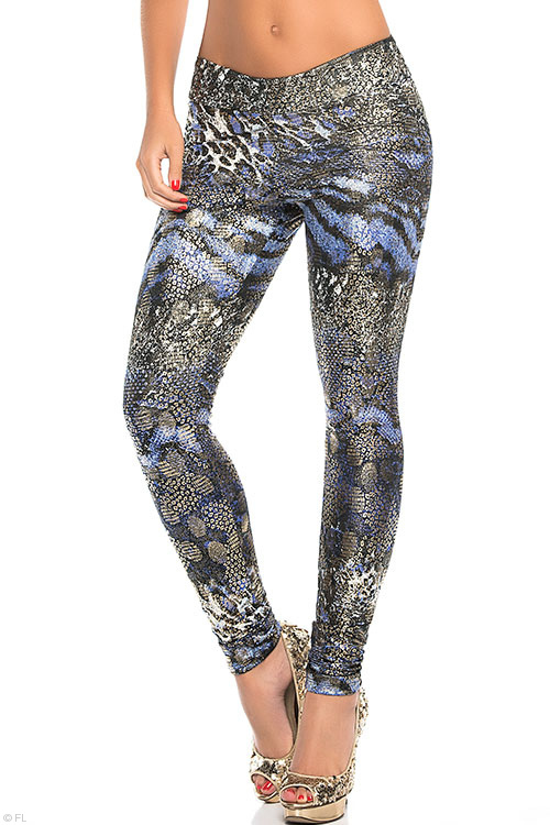 Lingerie - Mapale by Espiral Ultra Stretchy Fierce Print Leggings