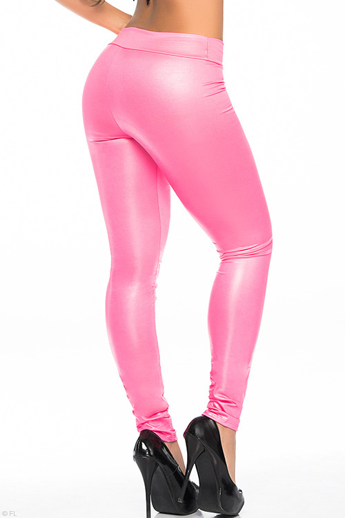 Lingerie - Mapale by Espiral Super Sleek Wet-Look Leggings