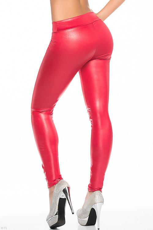 Lingerie - Mapale by Espiral Super Sleek Wet-Look Leggings