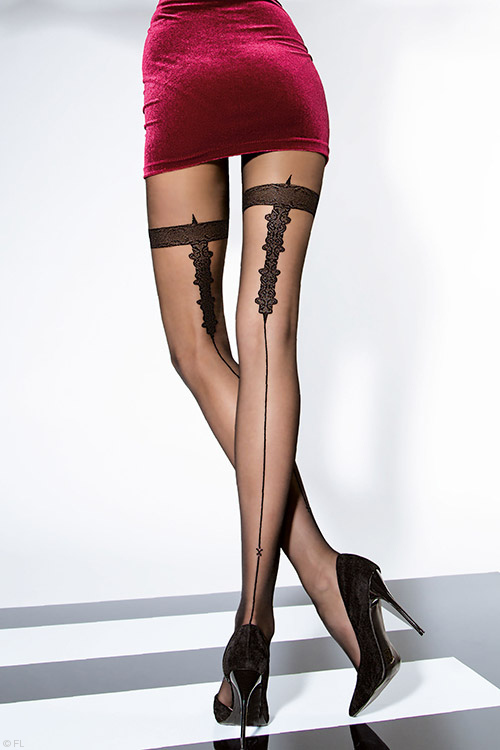 Lingerie - Fiore Sarina Luxurious Pantyhose