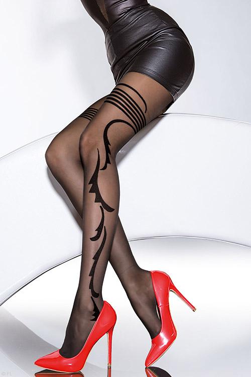 Lingerie - Fiore Geraldine Luxurious Pantyhose