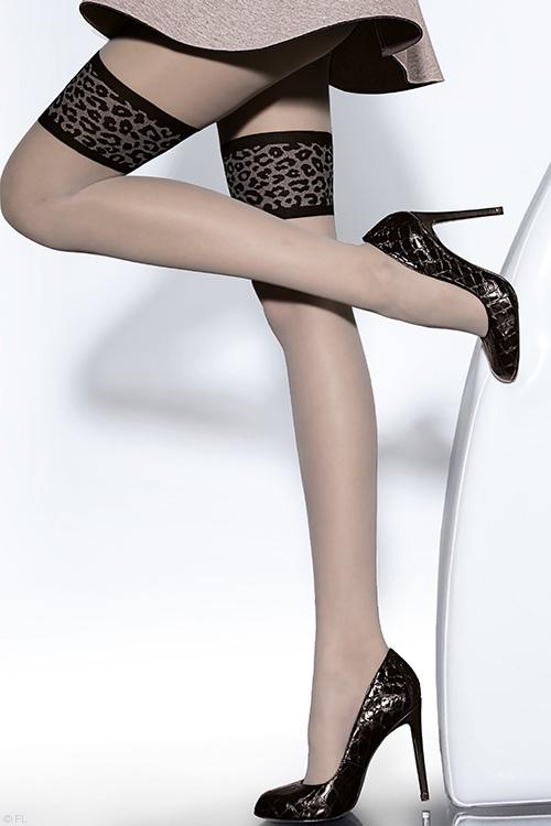 Lingerie - Fiore Cecilia Grey Pantyhose