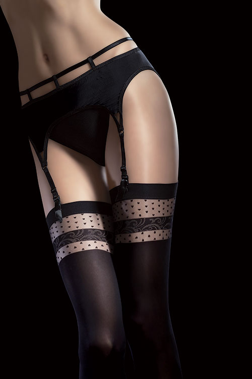 Lingerie - Fiore Nell Thigh Highs
