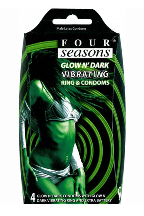 four-seasons-vibrating-glow-condoms-4-pack