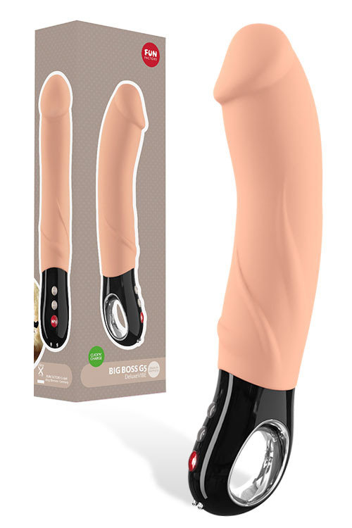 "Big Boss Powerful Rechargeable 9.2"" Vibrator"