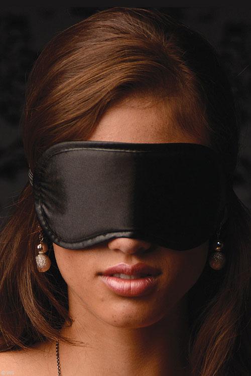 Bondage - GreyGasms Satin Eyemask