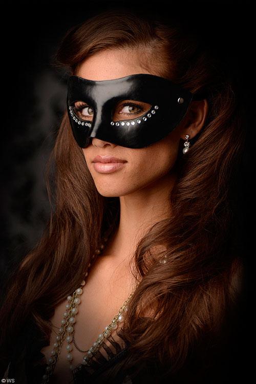 Bondage - GreyGasms Masquerade Mask