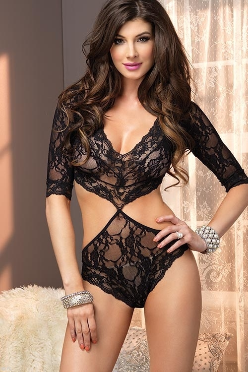 Lingerie - Leg Avenue Lace Teddy